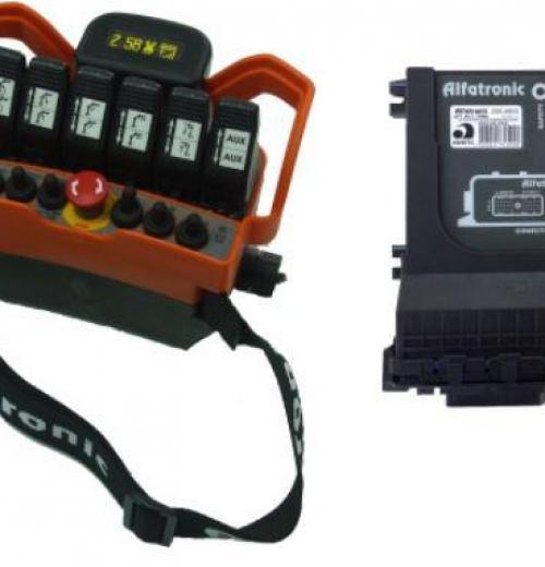 Controle Remoto + Inclinômetro AFT-RCT-TRM6+INCL