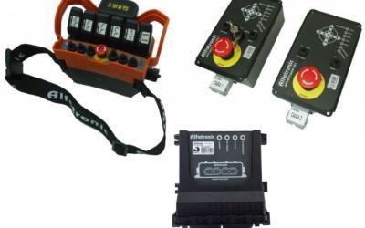 Controle Remoto + Inclinômetro + Controle de Momento AFT-RCT-TRM6+LME
