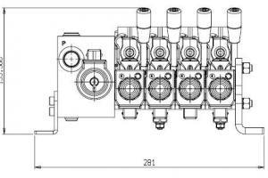 Comando Hidráulico Proporcional – DNCE50